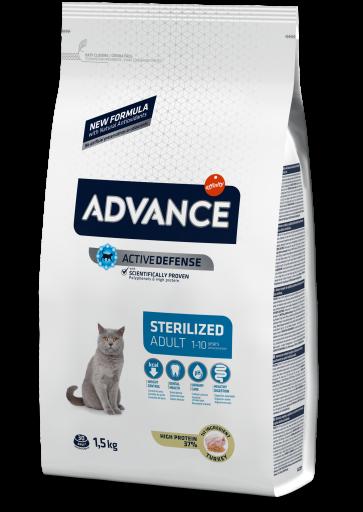 Nourriture Sterilized 10 KG Advance