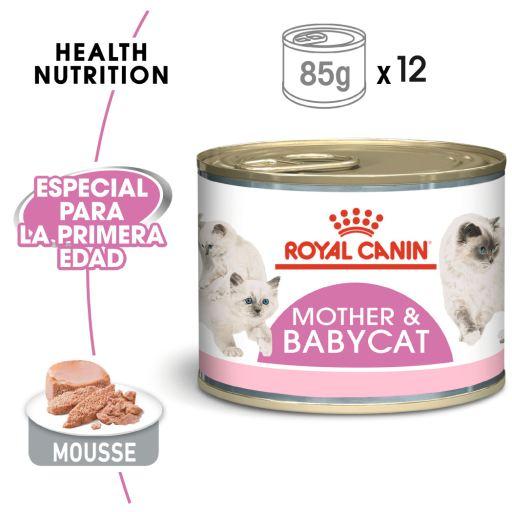 Mother & Babycat Comida Húmeda para Gatitos y Gatas Lactantes