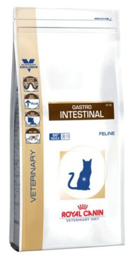Nourriture Gastro-intestinal 2 KG Royal Canin
