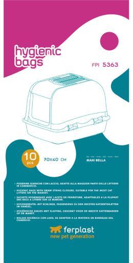 Fpi Bolsas Higienicas 70X40 10Pcs Maxi B