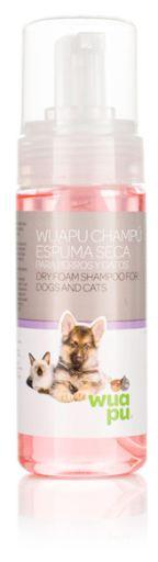 Shampoing Mousse Sèche pour Chiens 150 ml 150 ml Wuapu