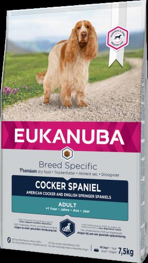 Cocker Spaniel 7.5 KG Eukanuba