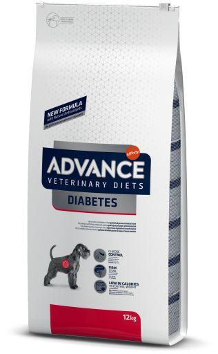 Nourriture Diabète et Colitis Canine 12 Kg Advance