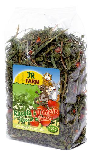 Eruca Sativa (Rucola) Und Tomate