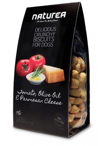 Biscuits Tomato, Olive Oil & Cheese 140 gr Naturea