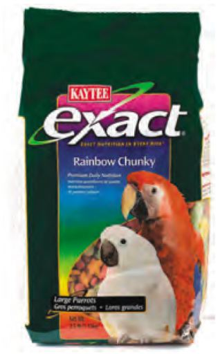 Multifunctional food for Macaws