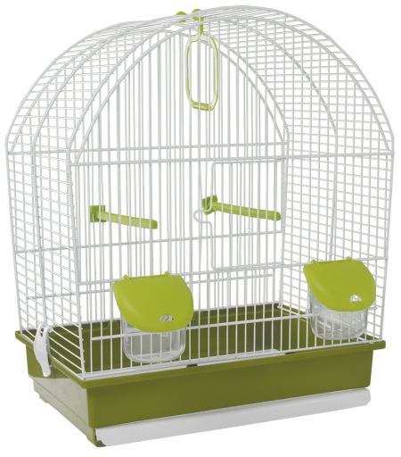 Cage Oiseaux 642 Blanche Voltrega