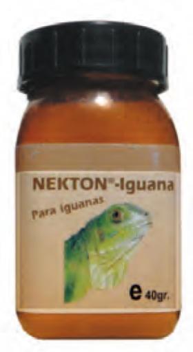 Supplément pour Iguanes 40 Gr 40 GR Nekton
