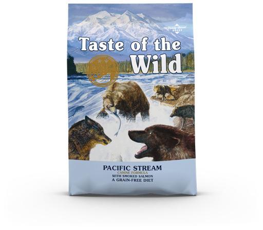 Pacific Stream Croquettes pour Chien au Saumon Fumé 12.2 kg Taste of