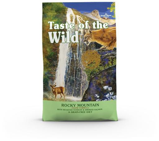Rocky Mountain Croquettes pour Chat au Gibier et au Saumon Fumé 6.6