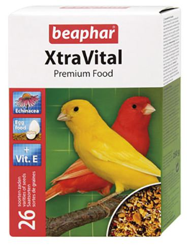 beaphar-xtravital-canary-bird-food-250-gr