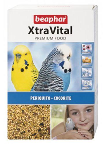 beaphar-xtravital-parakeet-food-1-kg