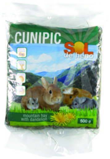 cunipic-hay-with-dandelion-500-gr