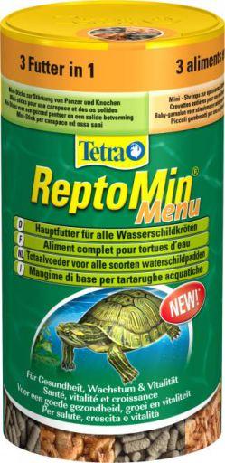 Reptomin-Menü
