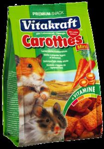 Carotties (Bâtonnets Carotte) pour Mini Hamsters 0.05 Kg Vitakraft