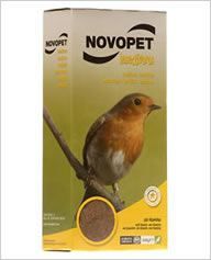 Alim. Insectivores, 300 gr. 300 GR Novopet