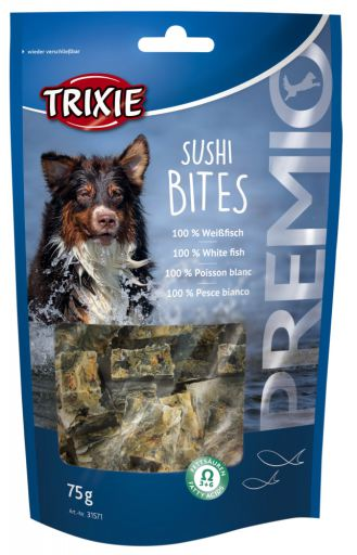 Prix Sushi Bites, Poisson Blanc 75 GR Trixie