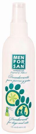 Déodorant pour Chiens et Chats 125 ml Men For San