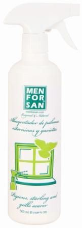 Spray Mettant en Fuite les Pigeons 500 ml Men For San