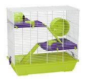 Cage à Hamster - BLANC - 949 Blanc Voltrega