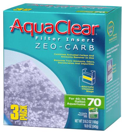 AQUACLEAR 70 ZEO-CARB INSERT