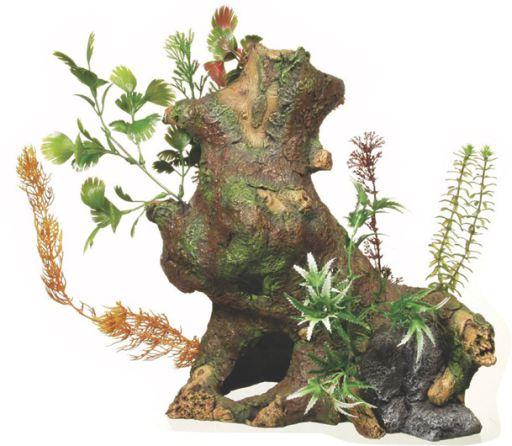 Deco Bois Coffre Avec Les Plantes Jumbo Marina