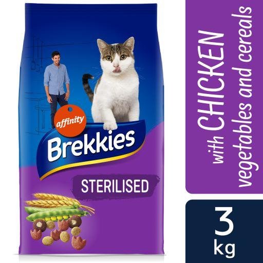 Tourteau Sterilized Chats 3 Kg Brekkies Excel