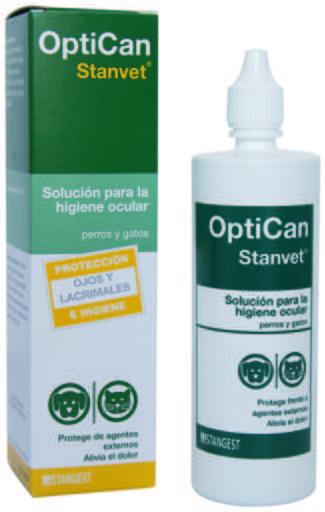 Optican Nettoyant Oculaire 125 ml 125 ml Stanvet