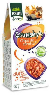 Crunchy's Chips de Carotte 90 GR Hami Form