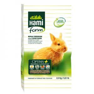 Optima prime Aliment complet pour Conejo. 2.5 KG Hami Form