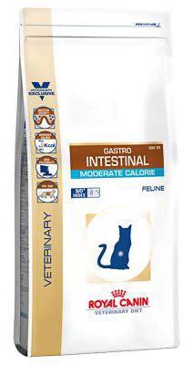 Nourriture Gastro-intestinal Moderate Calorie 4 KG Royal Canin