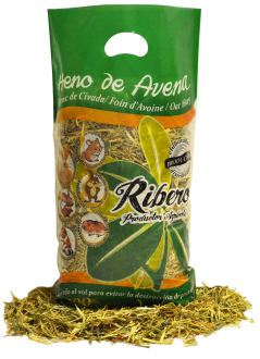Foin d'Avoine pour Rongeurs 1 Kg Ribero