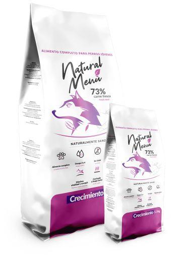 Natural Menu Croissance 5 KG Natural Menú