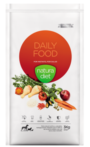 Nd Daily Food 3 Kg Natura Diet