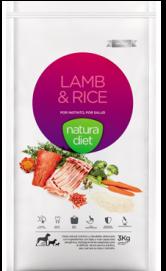 Nd Lamb & Rice 12 KG Natura Diet