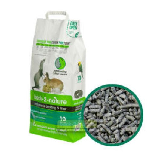 Back2Nature Litter Recycled Paper Pellets