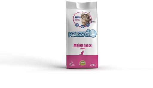 Aliment Complet pour Chats Maintenance Poisson 2 KG Forza10