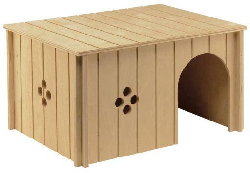Sin 4647 L. Wodden House Rabbit 37x22.7x20 cm Ferplast