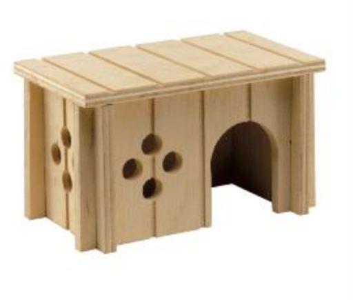Sin 4642 Wodden House Hamster