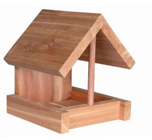Casita Trough, bois de cèdre, 16X15X13Cm, naturel Trixie
