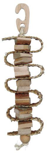 trixie-jouet-natural-living-avec-paille-et-grelot-21-cm
