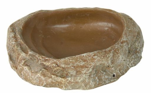 Auge et Abreuvoir pour Reptiles 10x2.5x7.5 cm Trixie