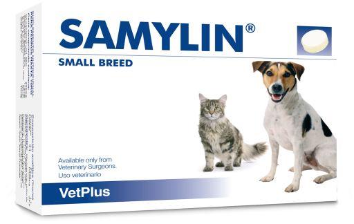 Samylin Hepatic Protector pour Petits Chiens et Chats en Comprimés