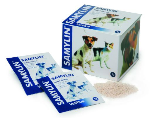 Samylin Hepatic Protector pour Petits Chiens et Chats en Enveloppes
