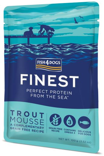 Truite Mousse 100 gr Fish4Dogs