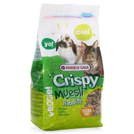 Tourteau pour Lapins Crispy Muesli Rabbits 20 KG Versele Laga