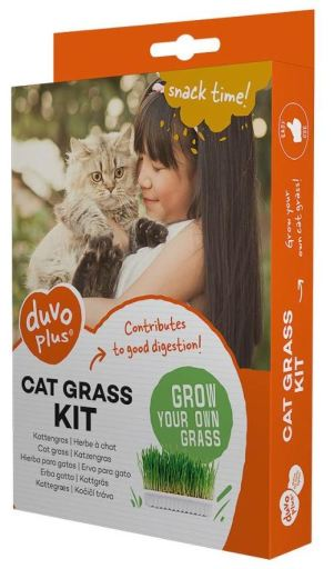 Herbe pour Chat 70 GR Duvo+