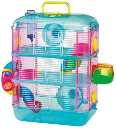 Cage Gran Canaria pour Hamsters 40x26x53 cm Arquivet