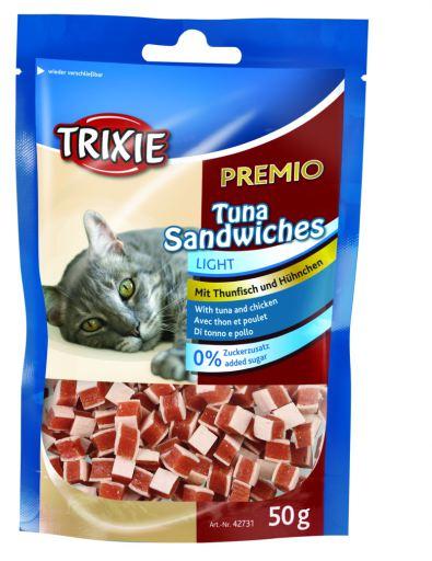 Snack Prix Thon Sandwiches 50 GR Trixie