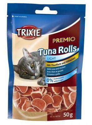 Snack Prix Thon Rolls 50 GR Trixie